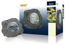 Ranex 5000.154 LED solar steenlamp kunststof