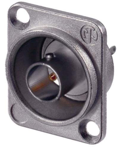 NTR-NBB75DSG BNC appliance socket with flange 75 Ohm