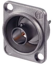 Neutrik NBB75DSG BNC appliance socket with flange 75 Ohm