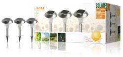 Ranex 5000.183 3 LED solar tuinlampen met steekpin IP44
