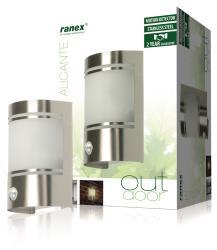Ranex 5000.299 Wandlamp met bewegingsdetector