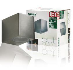 Ranex 5000.464 LED-wandlamp voor buitenshuis