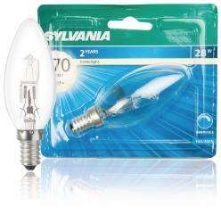 Sylvania 0023743 Klassieke Eco-kaarslamp 28 W E14