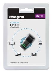 Integral INFD32GBFUSGR USB2.0 Stick 32 GB Fusion