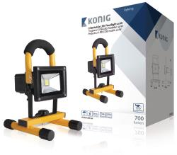 König KNLEDFLMB10W Mobiele COB LED-bouwlamp 10 W 700 lumen EU-stekker
