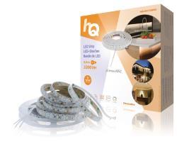 HQ HQLSEASYDIMIO LED-strip, eenvoudige installatie, dimbaar, voor binnen en buiten, 3200 lm, 5,00 m