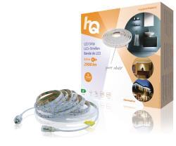 HQ HQLSEASYPWINDC LED-strip, eenvoudige installatie, helder wit licht, voor binnen en buiten, 2900 lm, 5,00 m