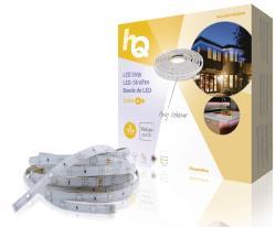 HQ HQLSEASYRGBPR LED-strip, eenvoudige installatie, RGB, voor binnen en buiten, 30 LED's p/m, 5,00 m