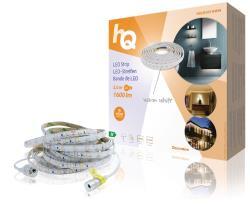 HQ HQLSEASYWWIN LED-strip, eenvoudige installatie, warm wit licht, voor binnen en buiten, 1600 lm, 5,00 m