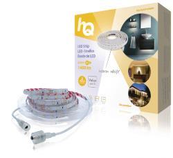 HQ HQLSEASYWWPR LED-strip, eenvoudige installatie, warm wit licht, voor binnen en buiten, 1400 lm, 5,00 m