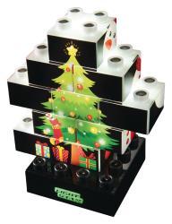 LS-M03004 Kerstmis-uitvoering 4 in 1 PUZZLE