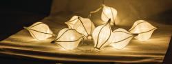 HQ HQLEDSLWTRDRW Lichtslinger waterdruppel wit 10 LED