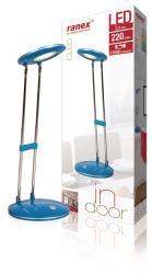 Ranex 6000.634 Ranex LED BUREAULAMP 6led blauw