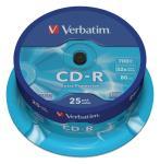 Verbatim 43432 CD-R Extra Protection 700 MB spindle 25 stuks