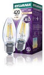Sylvania 0027284 Retro filament LED lamp Kaars E27 4W 420 lm 2700K