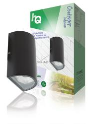 HQ HQLEDWLOUT03 LED wandlamp ovaal outdoor antraciet