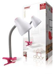 Ranex 6000.630 Desk cliplamp MANOU EX BULB RED