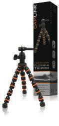 Camlink CL-TP140 Flexibele tripod 6 secties