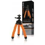 Camlink CL-TP240 Flexibele schuimrubberen tripod 5 secties