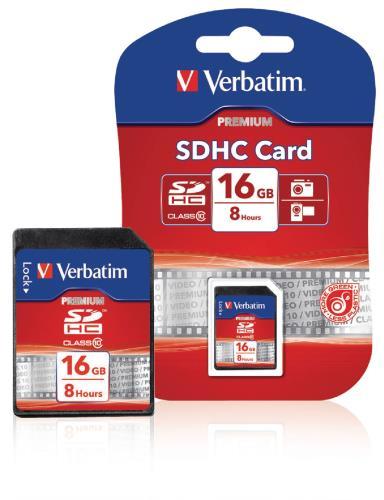 VB-SDHC10-16G SDHC-kaart 16 GB Class 10
