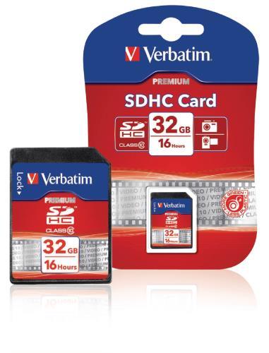 VB-SDHC10-32G SDHC-kaart 32 GB Class 10