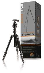 Camlink CL-TPPRE23-BL Premium statief zwarte lijn Ø 23 mm