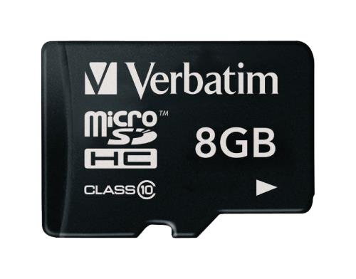 VB-TFHC10-08G MicroSDHC-kaart 8 GB Class 10