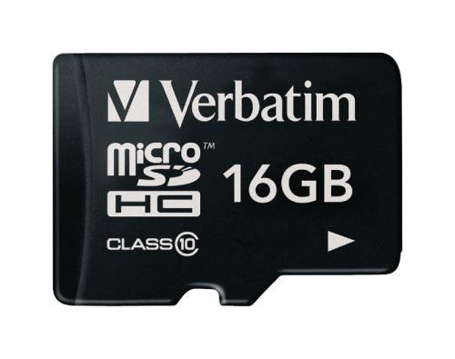 VB-TFHC10-16G MicroSDHC-kaart 16 GB Class 10