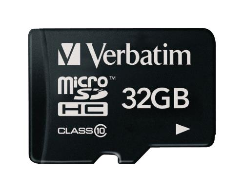 Verbatim 44013 MicroSDHC-kaart 32 GB Class 10