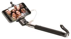 König KN-SMP20 Uitschuifbare selfie stick met sluiter antislip handgreep met veiligheidskoord