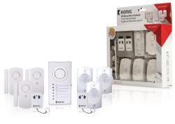 König SAS-ALARM120 Draadloos alarmsysteem