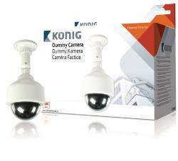 König SAS-DUMMYCAM25 Mini dummy-snelheidscamera dome voor buiten