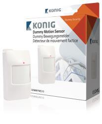 König SAS-DUMMYMS10 Dummy-alarmsysteem bewegingssensor