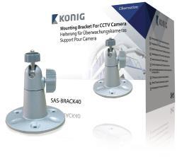 König SAS-BRACK40 Zilverkleurige camerasteun