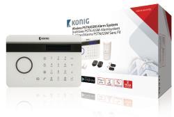 König SAS-ALARM300 Draadloos PSTN/GSM alarmsysteem