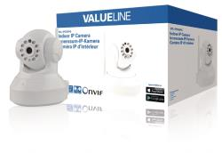 Valueline SVL-IPCAM10 HD kantel zwenk IP camera voor binnen 2-wegs audio