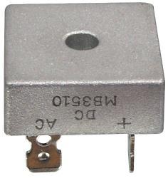 DC Components B1000C35000F Bridge rectifier square faston