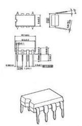Fixapart NE555NCMOS-MBR C-mos version NE555