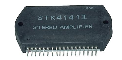 STK4141II-SAN Power amplifier 2x25 W 26 V .04 50 KHz