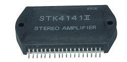 Sanyo STK4141II-SAN Power amplifier 2x25 W 26 V .04% 50 KHz