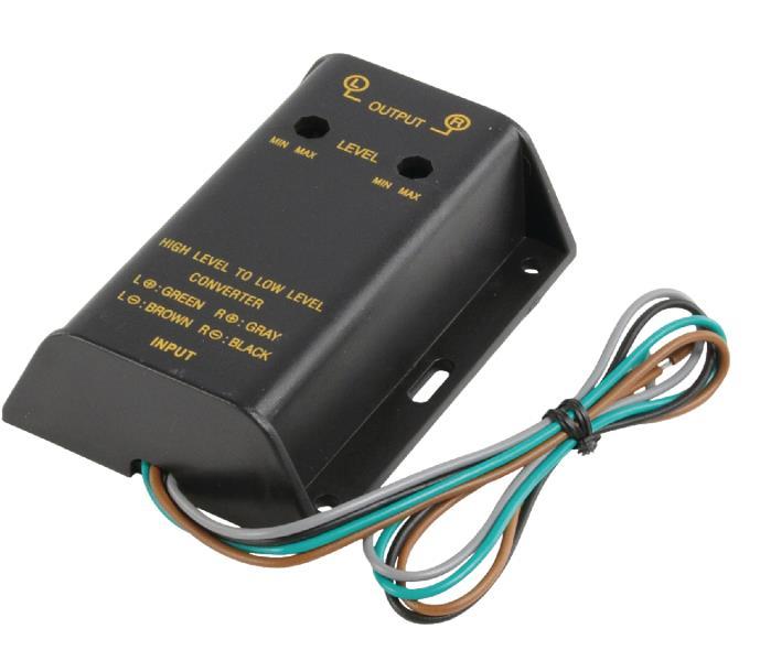 Fixapart CAR-AX03 Hoog naar laag vermogen converter