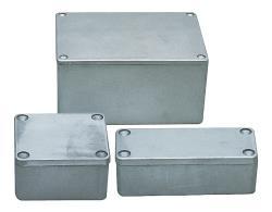 Fixapart G115 Aluminium behuizing 148 x 108 x 75 mm