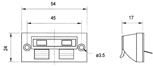 Visaton 5189 Luidspreker aansluitterminal