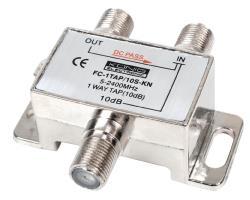 König FC-1TAP/10S-KN 1-weg tap 5 - 2400 MHz 10 dB