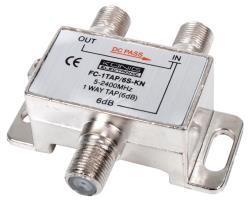König FC-1TAP/6S-KN 1-weg tap 5 - 2400 MHz 6 dB