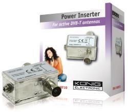 König DVB-T INSERT10 Professionele power inserter