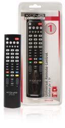 König KN-RCU10B Universele afstandsbediening voor 1 TV