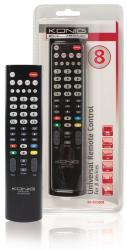 König KN-RCU80B Universele afstandsbediening voor 8 apparaten