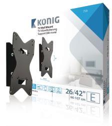 "König KNM-MT10 Muurbeugel kantelbaar 26-42""/ 66-107 cm - 40 kg / 88 lbs"