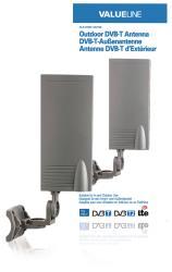 Valueline VLS-DVBT-OUT20 DVB-T-buitenantenne voor gebruik binnen en buiten 15 dB